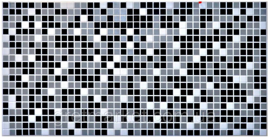 Панели ПВХ Grace Мозаика Черная 955*480мм