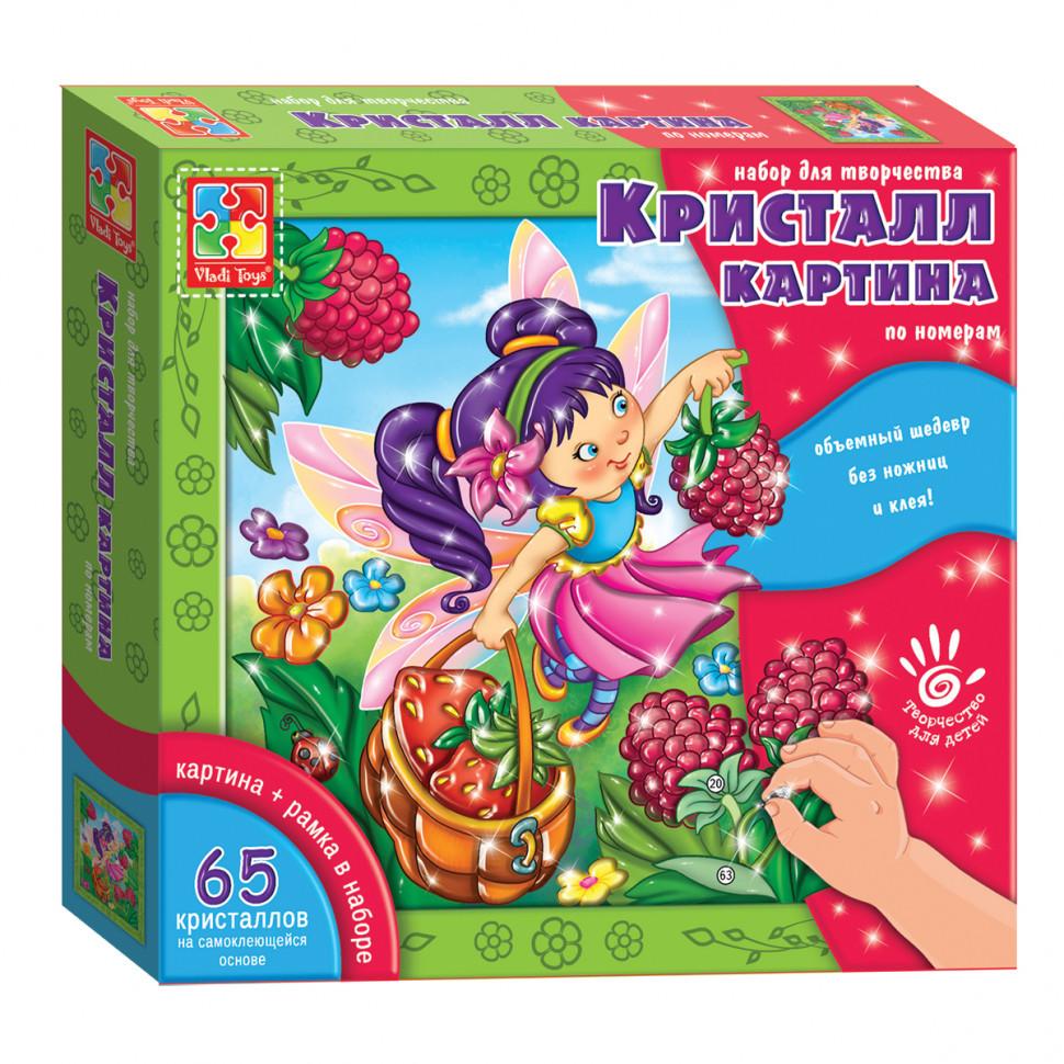 Кристалл картина (Фея) VT4010-04 (рус)