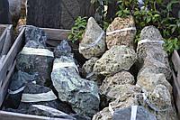 """Мелкий Бут из твердой вулканической породы """"Green Moss Stone"""" KLVIV, фото 1"""