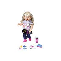 Кукла BABY BORN серии Нежные объятия - Сестренка модница 43cm с аксессуарами 824603