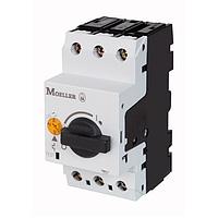 Автомат защиты двигателя PKZM0-1, Ir=0.63-1А Eaton (Moeller) 72734