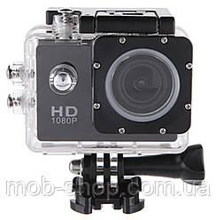 Водонепроникна Екшн камера Action Camera A9 Full HD для дайвінгу великий набір кріплень