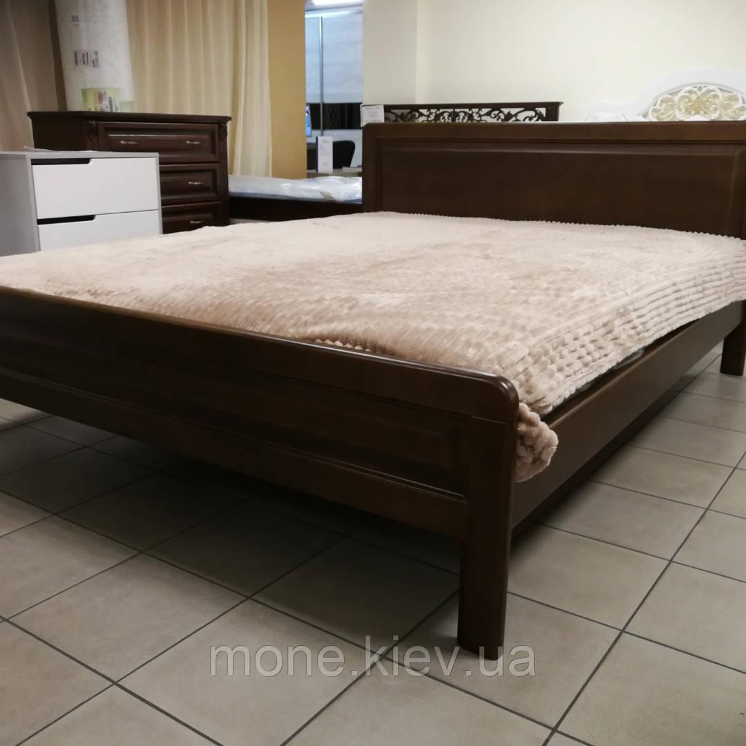 """Двуспальная кровать из натурального дерева """"Бристоль"""""""