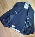 Шикарный классический темно синий мужской костюм натуральная шерсть Tommy Hilfiger Оригинал (Размер 48), фото 3
