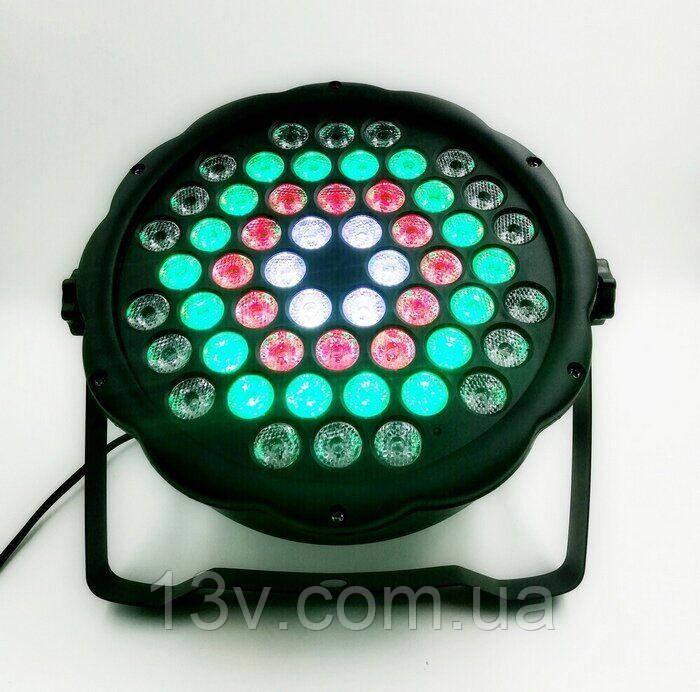 Light Studio L013 RGBW 54 * 1.5W Світлодіодний Лід Пар
