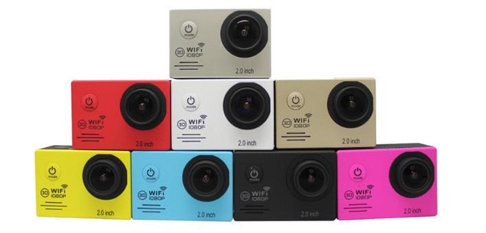 Екшн-камера SJ7000 WiFi з аксесуарами