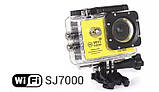 Екшн-камера SJ7000 WiFi з аксесуарами, фото 5