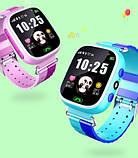 Дитячі Смарт Годинник GM7S Сині smart watch, фото 5