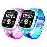 Дитячі Смарт Годинник GM7S Сині smart watch, фото 6