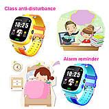 Дитячі Смарт Годинник GM7S Сині smart watch, фото 4