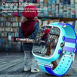 Дитячі Смарт Годинник GM7S Сині smart watch, фото 3