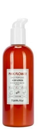Парфюмированный лосьон для тела с экстрактом розовых цветов FarmStay