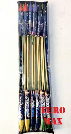 "Набор из 12 ракет ""Зоряна подорож"" P15-12, фото 2"