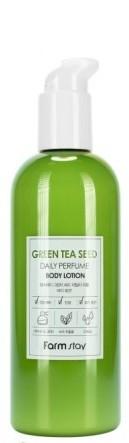 Парфюмированный лосьон для тела с экстрактом семян зеленого чая FarmStay