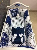 Набір бортиків у дитяче ліжечко