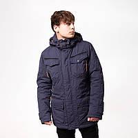 Мужская куртка весенняя Camel Active 420542 синяя