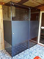 Стеклянные угловые раздвижные душевые кабины на заказ без поддона,скляні душові кабіни,душевые углы,душ кабина