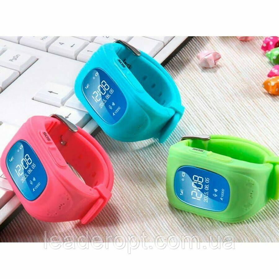 Детские умные смарт часы Smart watch Q50 со съемным силиконовым ремешком  в разных цветах ОПТ