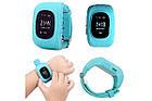 Детские умные смарт часы Smart watch Q50 со съемным силиконовым ремешком  в разных цветах ОПТ, фото 3