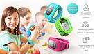 Детские умные смарт часы Smart watch Q50 со съемным силиконовым ремешком  в разных цветах ОПТ, фото 6