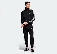 Мужской спортивный костюм Adidas, Адидас, черный (в стиле)