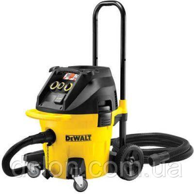 Пылесос промышленный DeWALT DWV902L, 1400Вт, 4080 л/мин, бак 35л, класс очистки воздуха L.