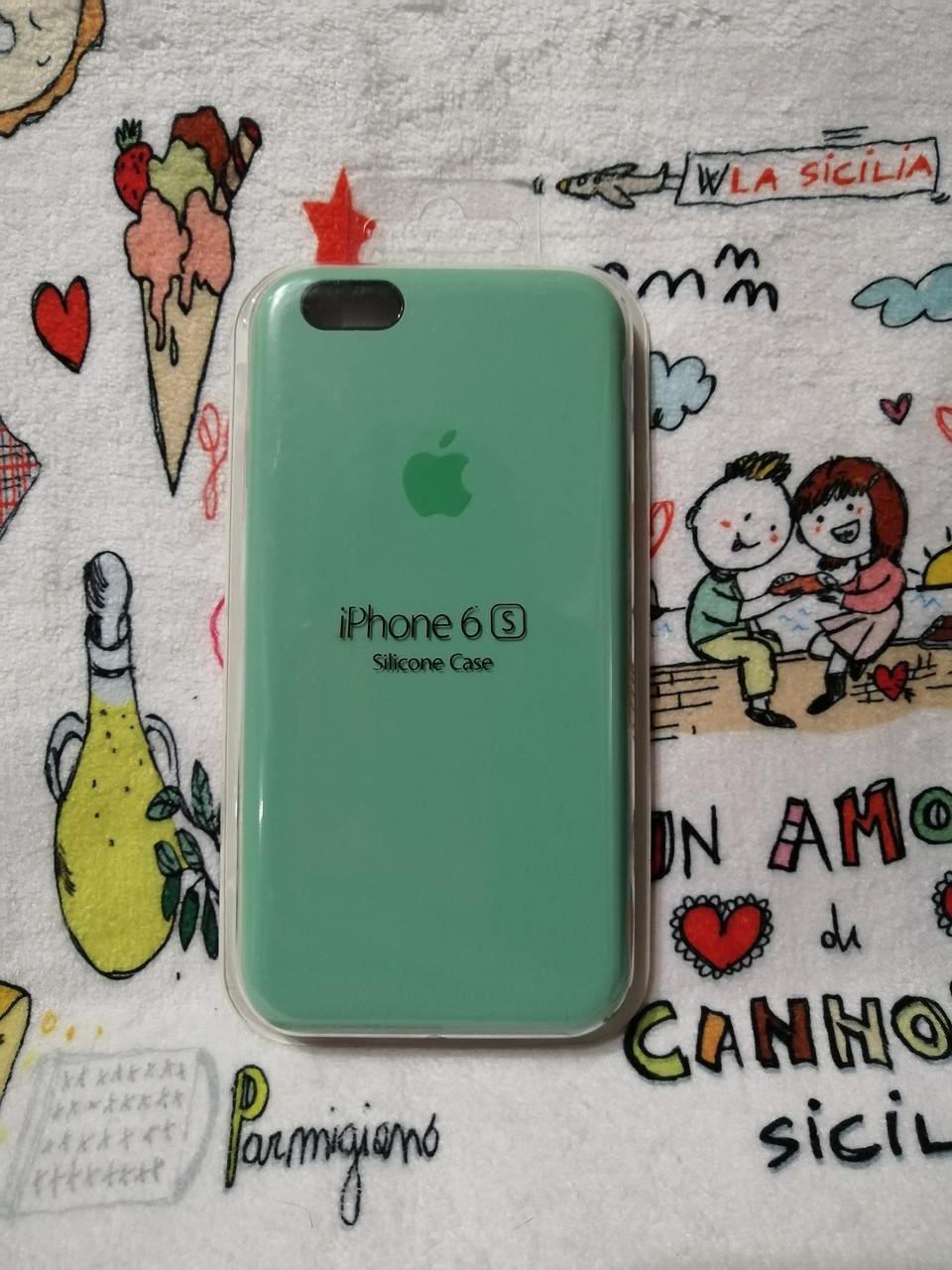 Силиконовый чехол для Айфон  6 / 6S  Silicon Case Iphone 6 / 6S в защищенном боксе - Color 25