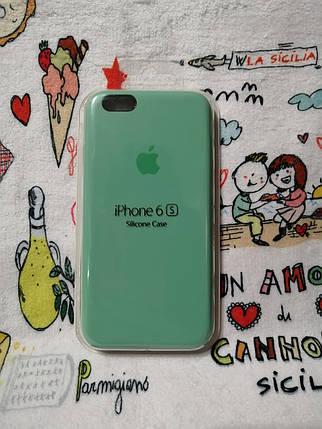 Силиконовый чехол для Айфон  6 / 6S  Silicon Case Iphone 6 / 6S в защищенном боксе - Color 25, фото 2