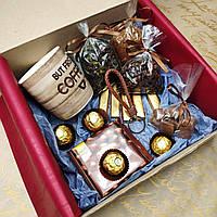 """Красивый и вкусный подарок для мужчин """"Кофе и шоколад"""""""
