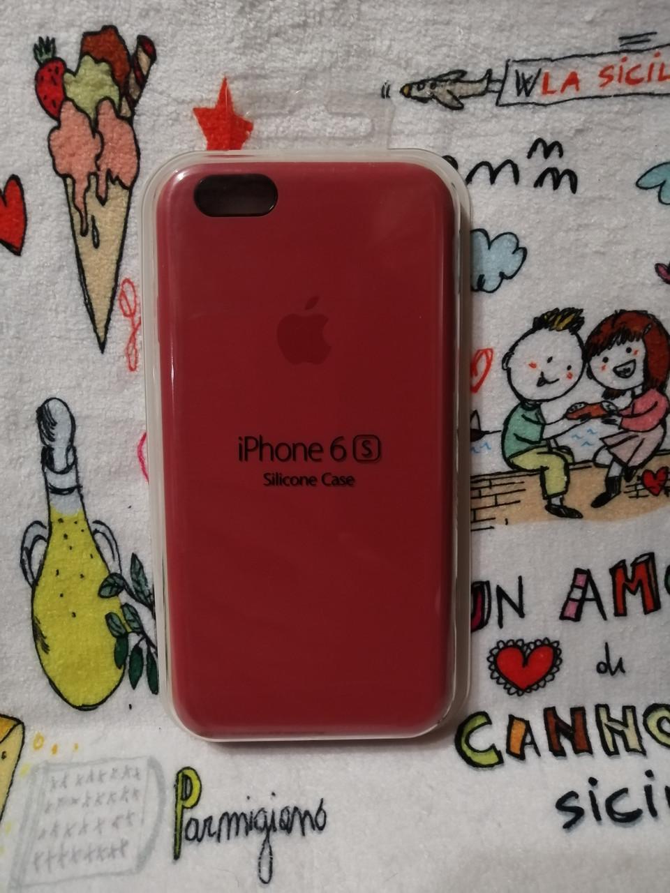Силиконовый чехол для Айфон  6 / 6S  Silicon Case Iphone 6 / 6S в защищенном боксе - Color 17