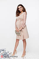 Шикарна нарядна сукня для вагітних та годування CALLIOPE DR-49.252