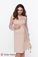 Шикарное нарядное платье для беременных и кормящих CALLIOPE DR-49.252