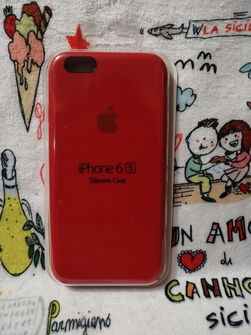 Силиконовый чехол для Айфон  6 / 6S  Silicon Case Iphone 6 / 6S в защищенном боксе - Color 16