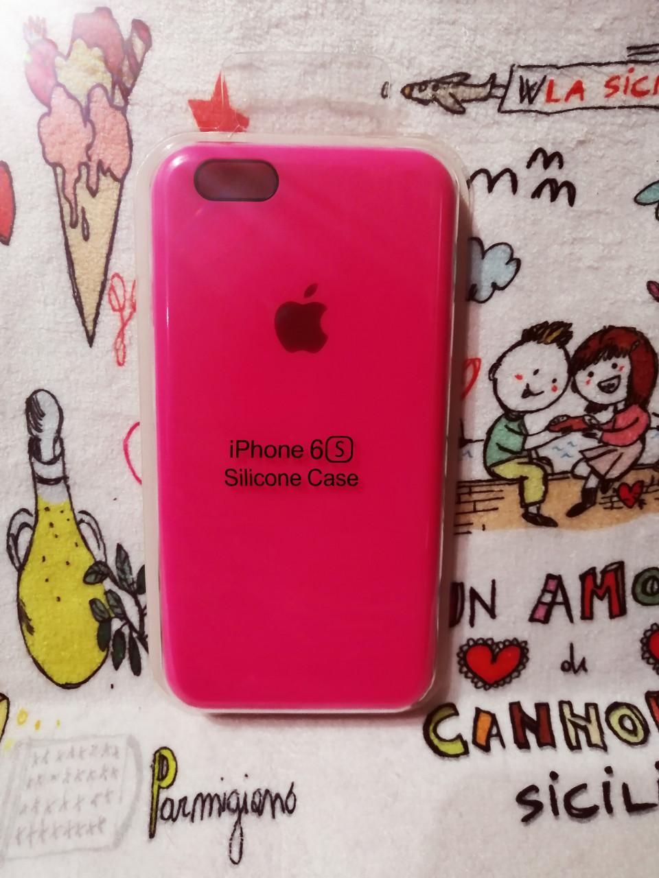 Силиконовый чехол для Айфон  6 / 6S  Silicon Case Iphone 6 / 6S в защищенном боксе - Color 8