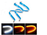 Светодиодные ходовые огни-реснички с функцией поворота