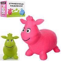 Прыгун резиновый овечка MS 1435 игрушка-тренажер для детей