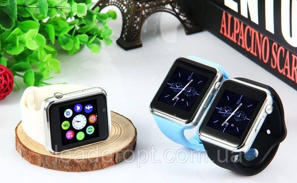 ОПТ Розумні годинник Smart Watch A1 смарт-годинник A1 з квадратним циферблатом, камерою, шагометром і функцією дзвінків