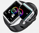 ОПТ Розумні годинник Smart Watch A1 смарт-годинник A1 з квадратним циферблатом, камерою, шагометром і функцією дзвінків, фото 9