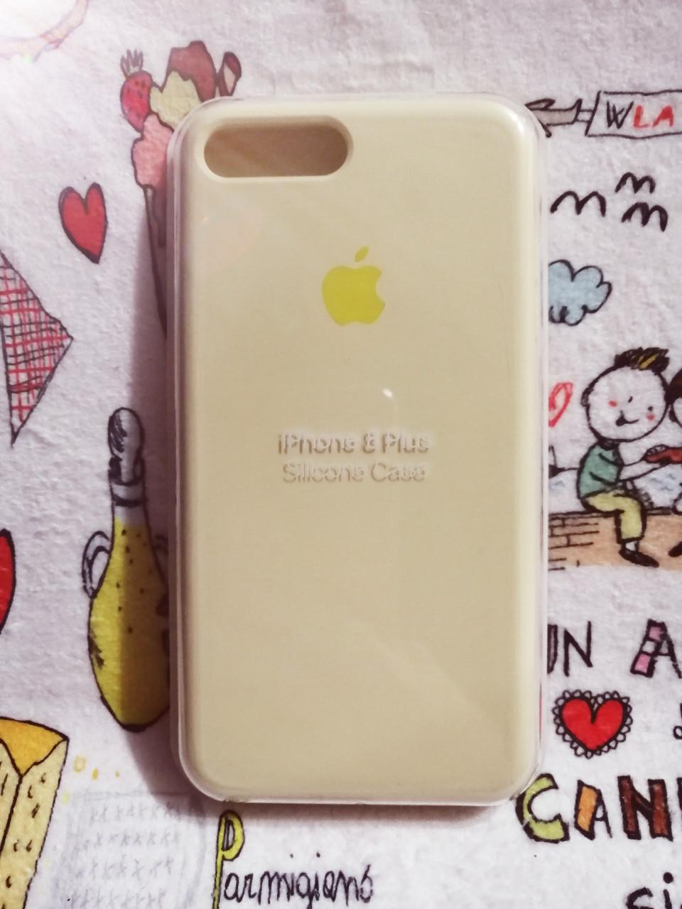 Силиконовый чехол для Айфон 7 Plus / 8 Plus  Silicon Case Iphone 7+/8+ в защищенном боксе - Color 1