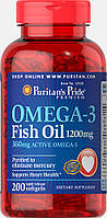 Puritan's Pride Omega-3 1200 mg (200 капс.)