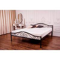 """Металеве двоспальне ліжко """"Еліс Люкс"""" (8 кольорів)"""