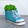 Цветочное кашпо Кеды Ботинок, фото 4