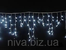 Гірлянда Бахрома LED + перехідник 3 х 0,5 м Холоднобілий