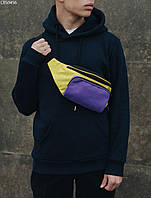 Поясная сумка Staff black purple yellow, фото 1