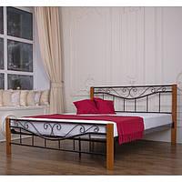"""Металеве двоспальне ліжко """"Емілі"""" (8 кольорів)"""