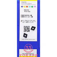 Пластина ZCC-CT CCMT060204-HM YBC252