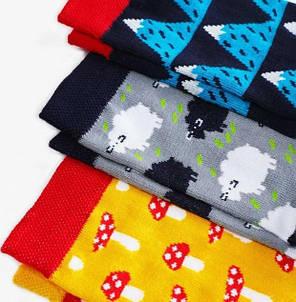 Носки детские Dodo Socks Yukon 2-3 года, набор 3 пары, фото 2