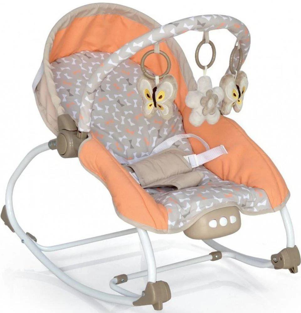 Детское кресло-качалка шезлонг Baby Mix 212-18 (крісло-гойдалка для дітей)