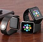 Умные смарт часы Smart Watch Bluetooth с сим картой стильные прямоугольные А1 в разных цветах ОПТ, фото 5