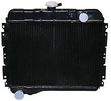 Радиатор водяного охлаждения Волга 24,31029 (2 рядн.медь) (пр-во Иран)